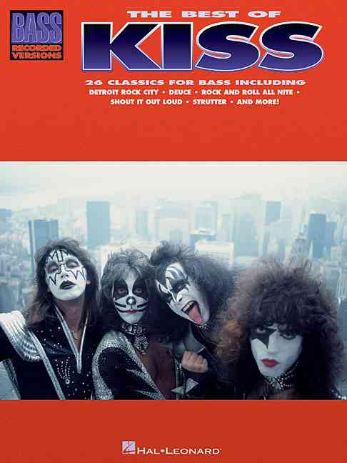 The Best of Kiss for Bass Guitar By Kiss (CRT)